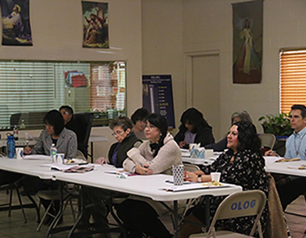 image of a grant workshop